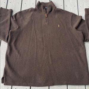 Polo Ralph Lauren XXL half zip pullover